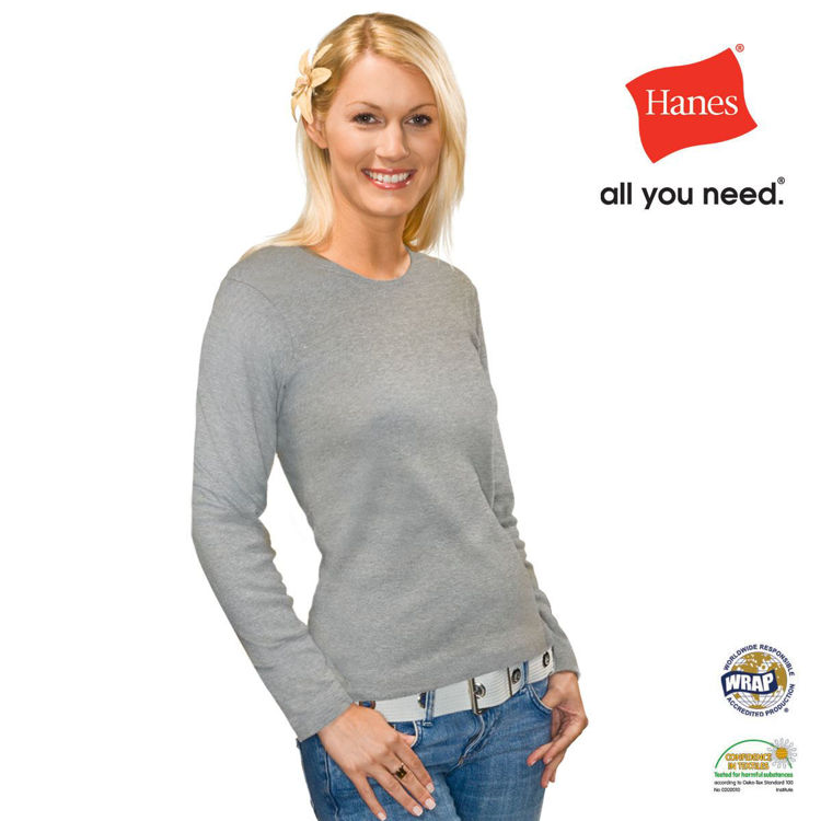 Picture of Hanes Beefy Long Sleeve T