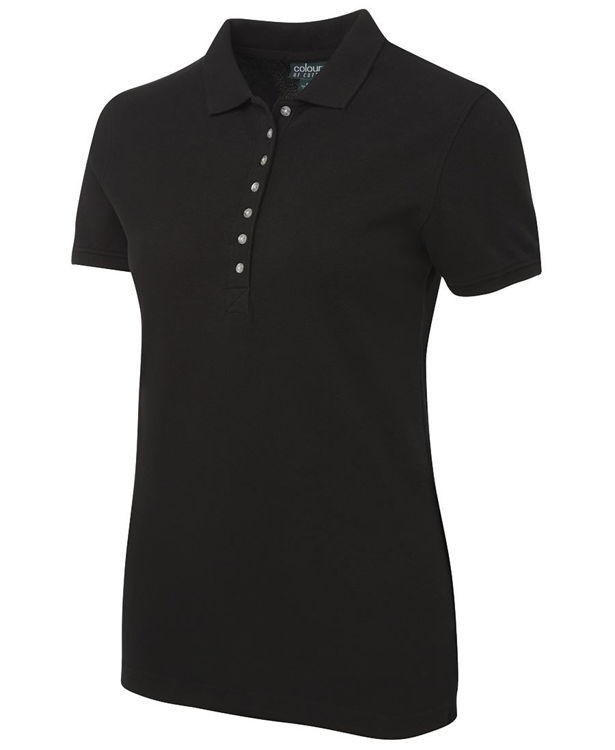 Picture of C OF C LADIES COTTON PIQUE POLO