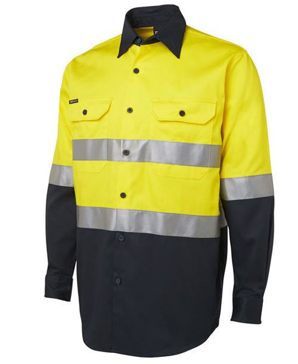 Picture of JB'S HI VIS (D+N) L-S 190G SHIRT