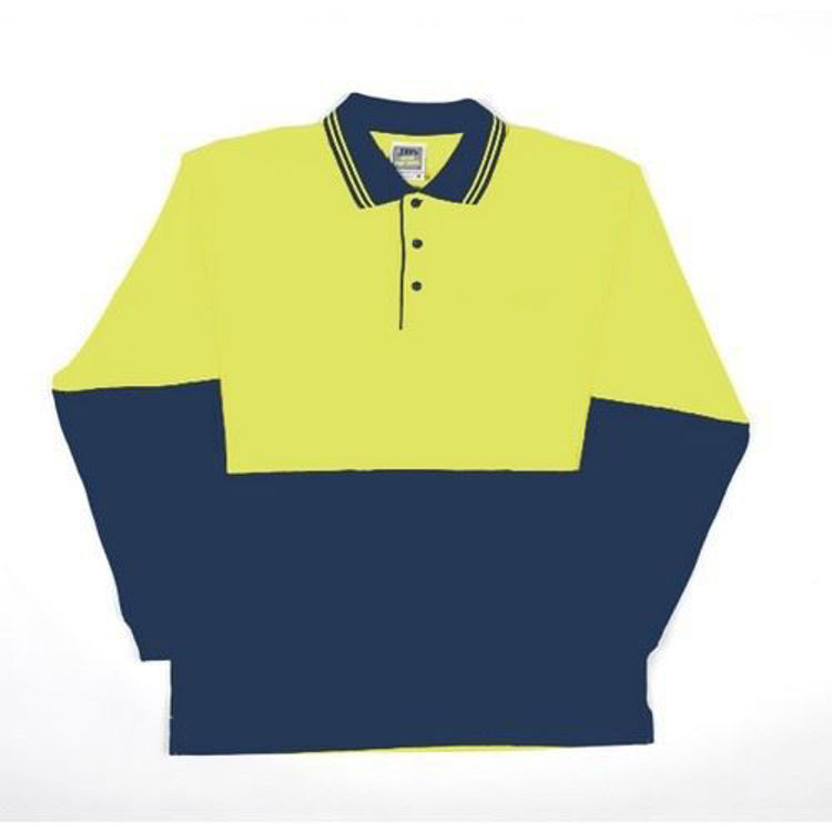 Picture of JB'S HI VIS L-S COTTON POLO
