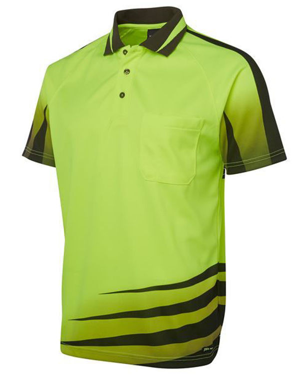 Picture of JB'S HI VIS RIPPA SUB POLO