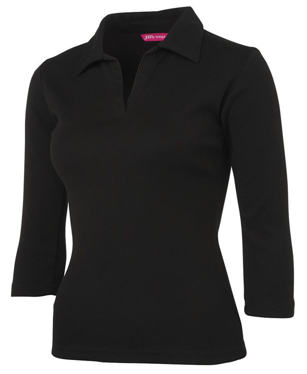 Picture of JB'S LADIES 3-4 SLEEVE POLO