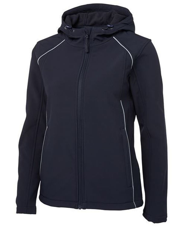 Picture of JB'S LADIES HOODED SOFT SHELL