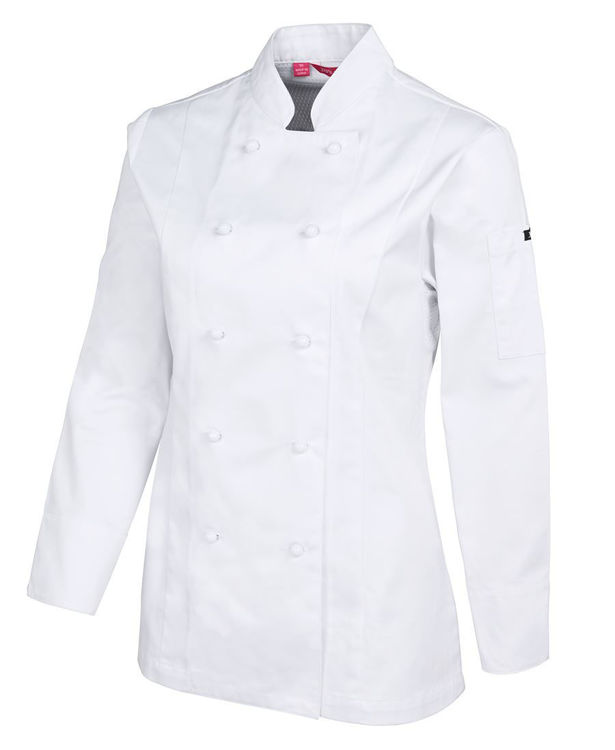 Picture of JB'S LADIES L-S VENTED CHEF'S