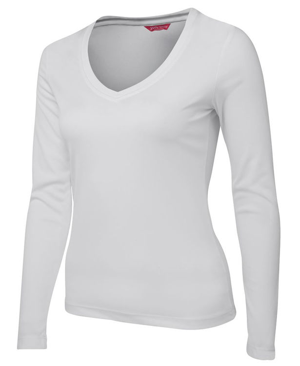 Picture of JB'S LADIES L-S V-NECK SLINKY TEE