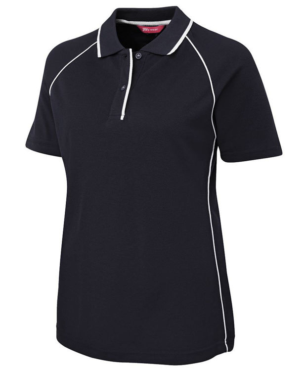 Picture of JB'S LADIES RAGLAN POLO