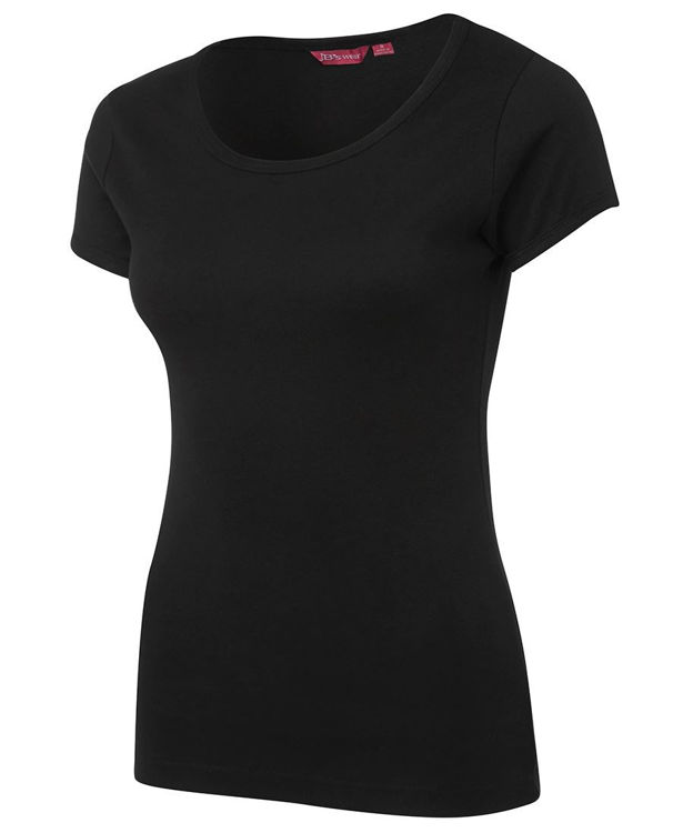 Picture of JB'S LADIES SCOOP NECK TEE