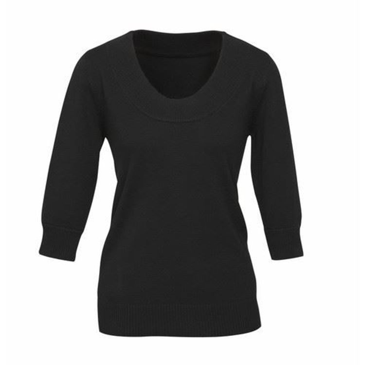 Picture of Ladies 80-20 Scoop Neck Pullover