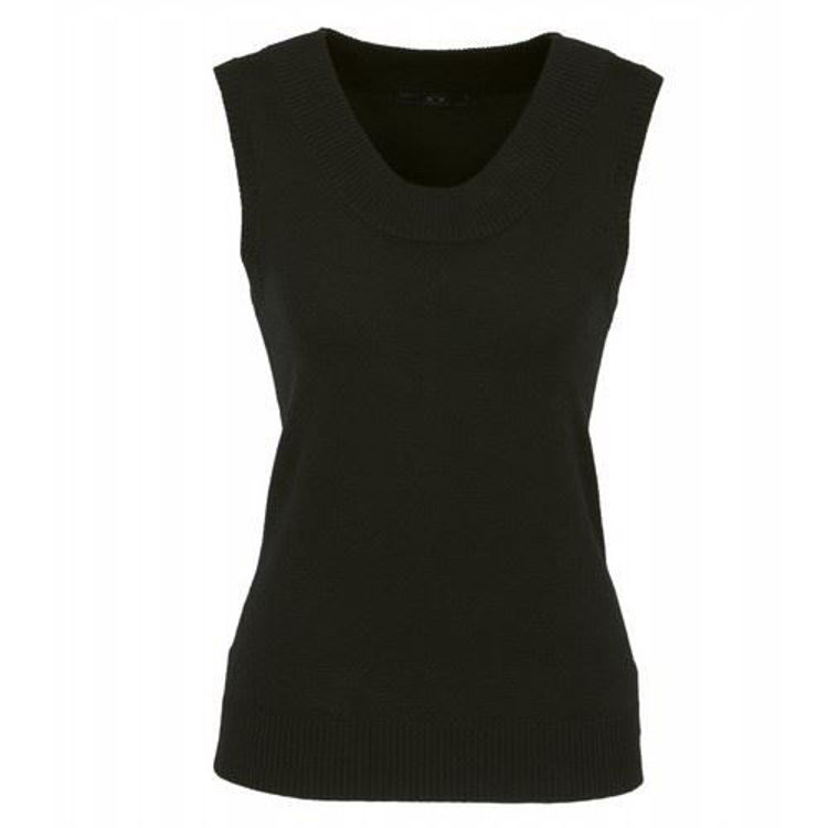 Picture of Ladies 80-20 Scoop Neck Vest