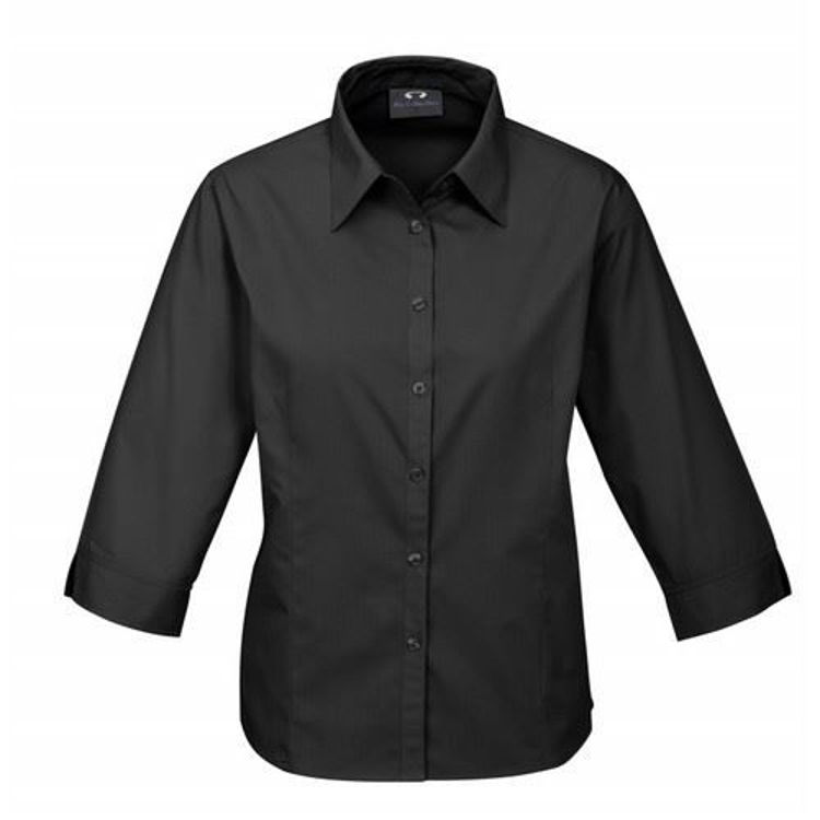 Picture of Ladies Base 3-4 Sleeve Shirt