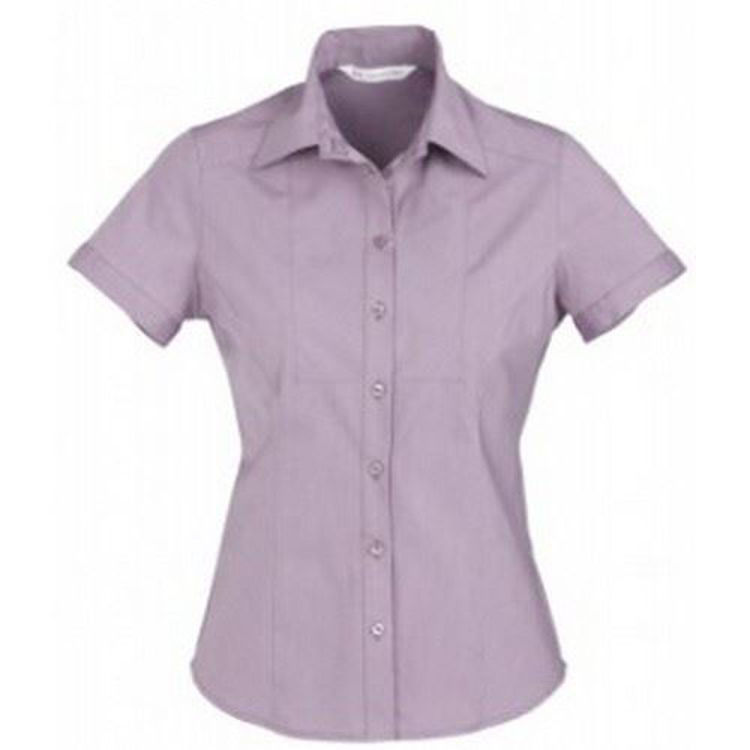 Picture of Ladies Chevron Short Sleeve Shirt