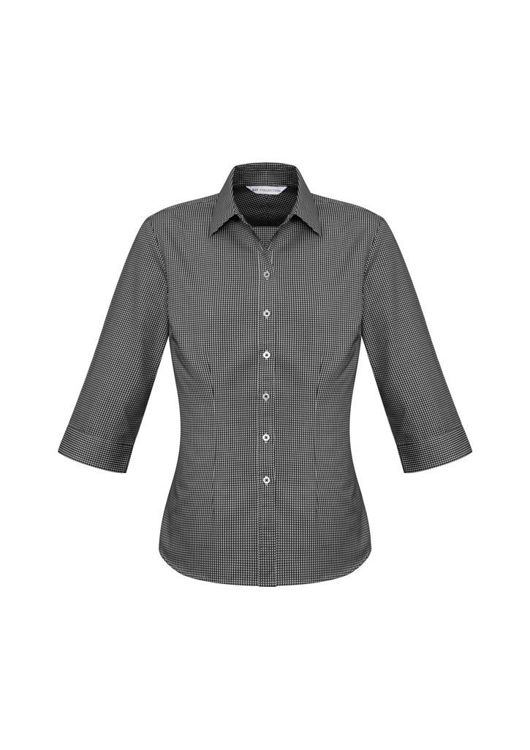 Picture of Ladies Ellison 3-4 Sleeve Shirt