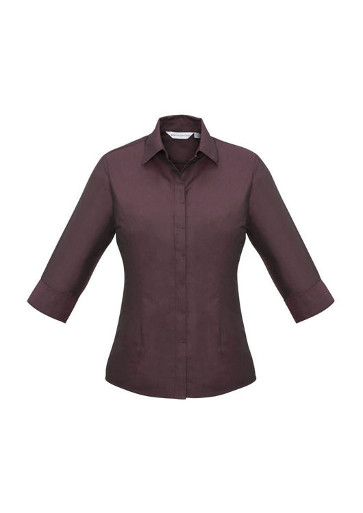 Picture of Ladies Hemingway 3-4 Sleeve Shirt