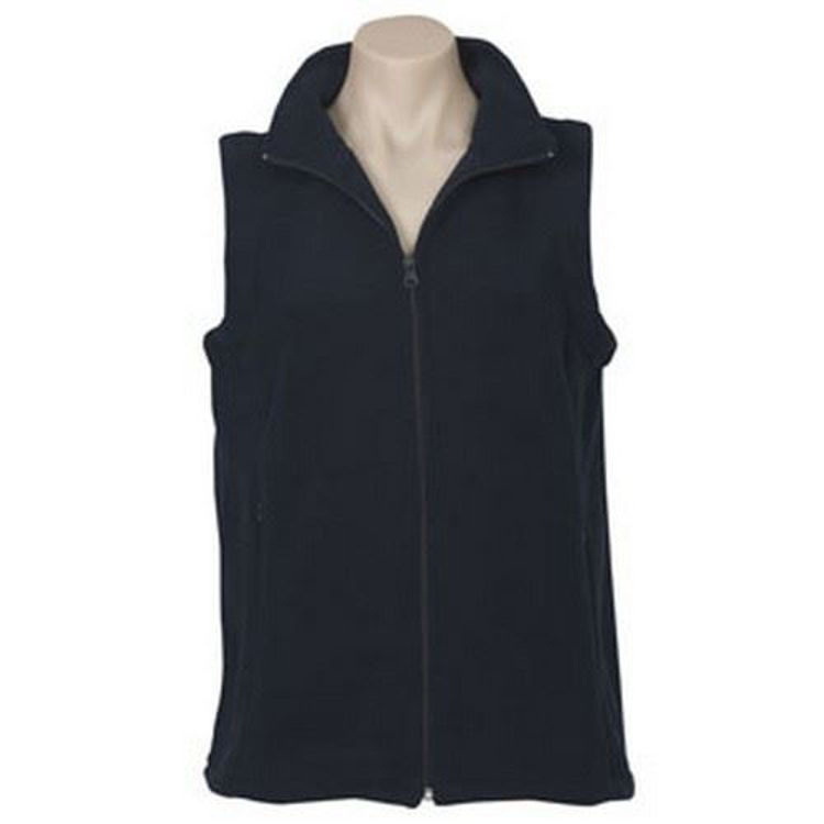 Picture of Ladies Poly Fleece Vest