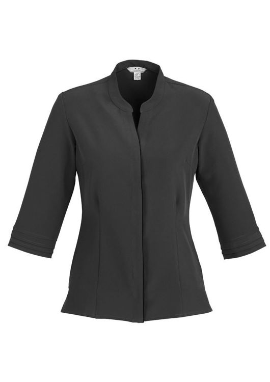 Picture of Ladies Quay 3-4 Sleeve Shirt