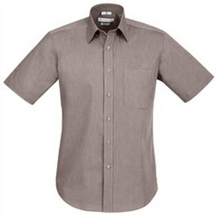 Picture of Mens Chevron Short Sleeve Shirt