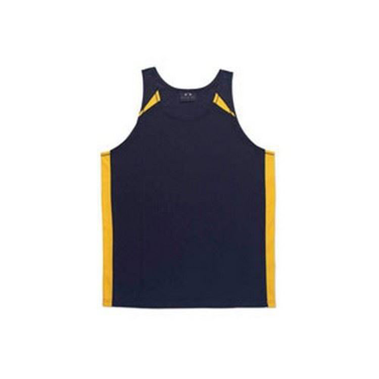Picture of Mens Splice Singlet