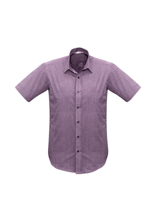 Picture of Mens Trend Short Sleeve Shirt