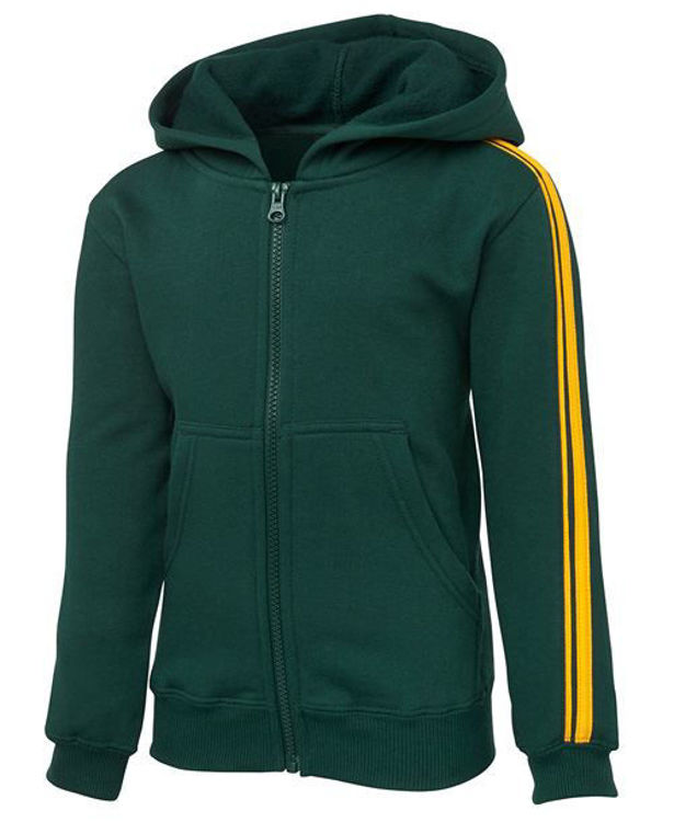 Picture of PDM P-C DUAL STRIPE F-ZIP HOOD