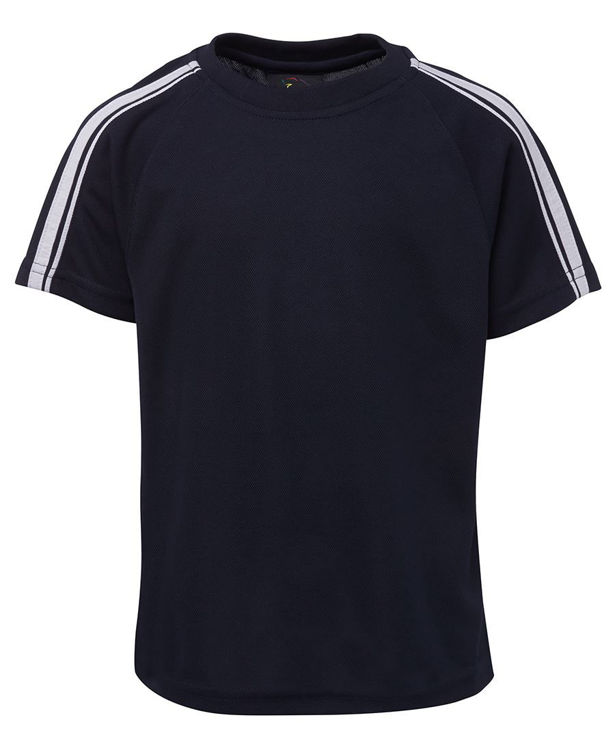 Picture of PODIUM  DUAL STRIPE CREW NECK