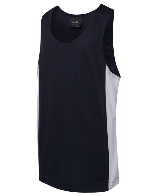 Picture of PODIUM KIDS CONTRAST SINGLET