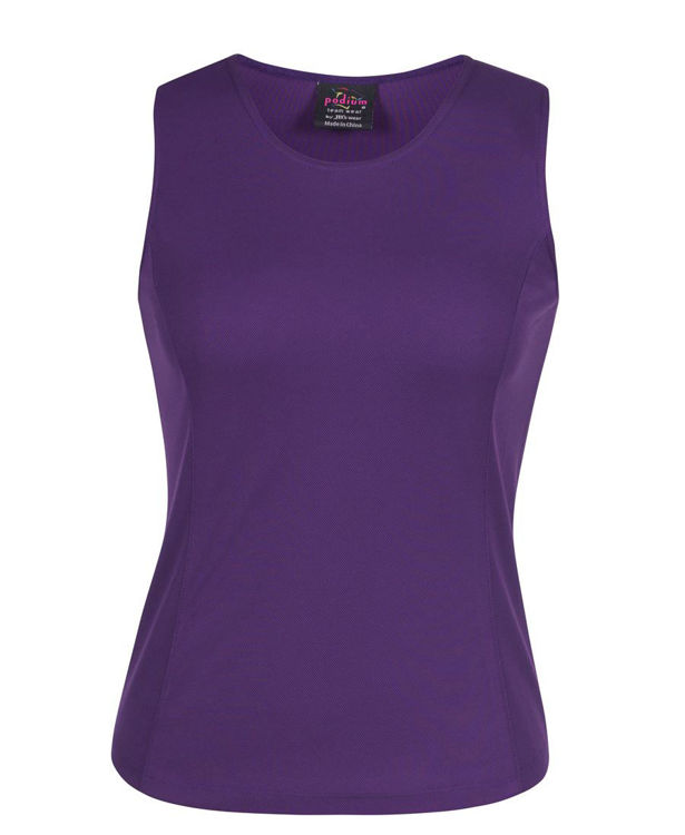 Picture of PODIUM LADIES POLY SINGLET
