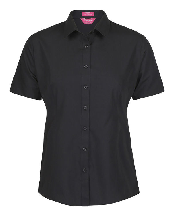 Picture of JB's LADIES S/S CLASSIC POPLIN SHIRT