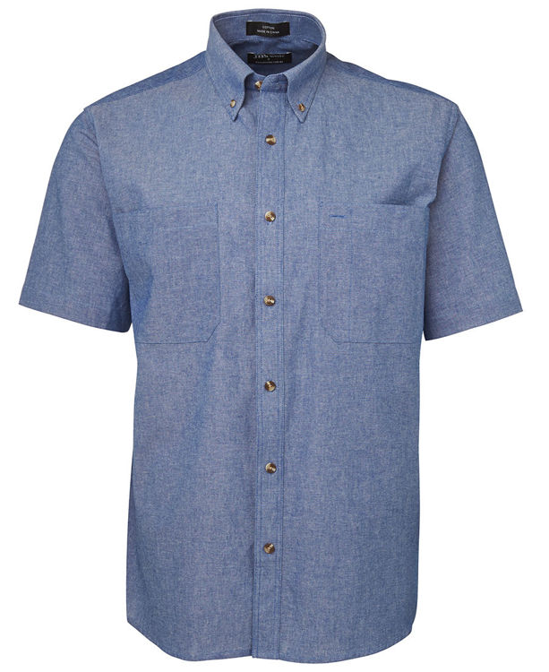 Picture of JB's S/S CHAMBRAY SHIRT