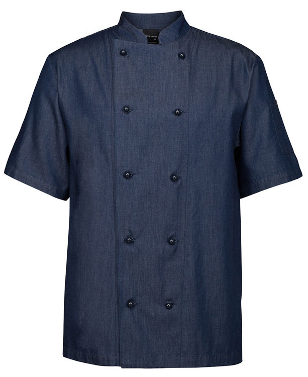 Picture of JB's DENIM S/S CHEFS JACKET