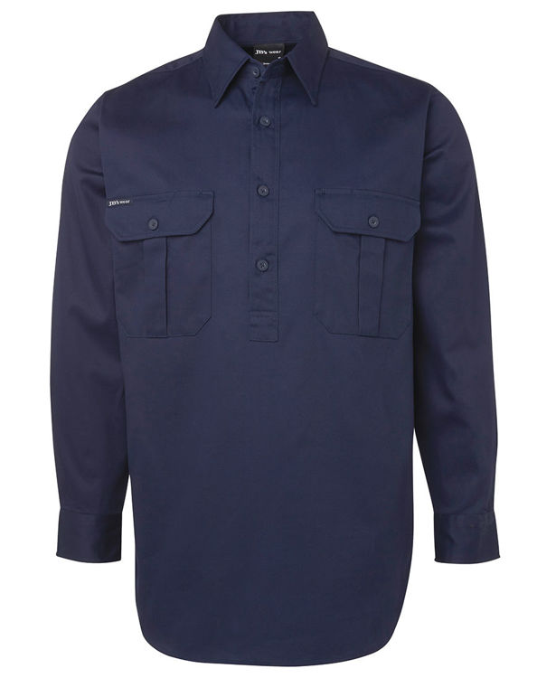 Picture of JB's CLOSE FRONT L/S WORK SHIRT