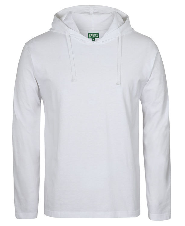 Picture of C OF C L/S HOODED TEE