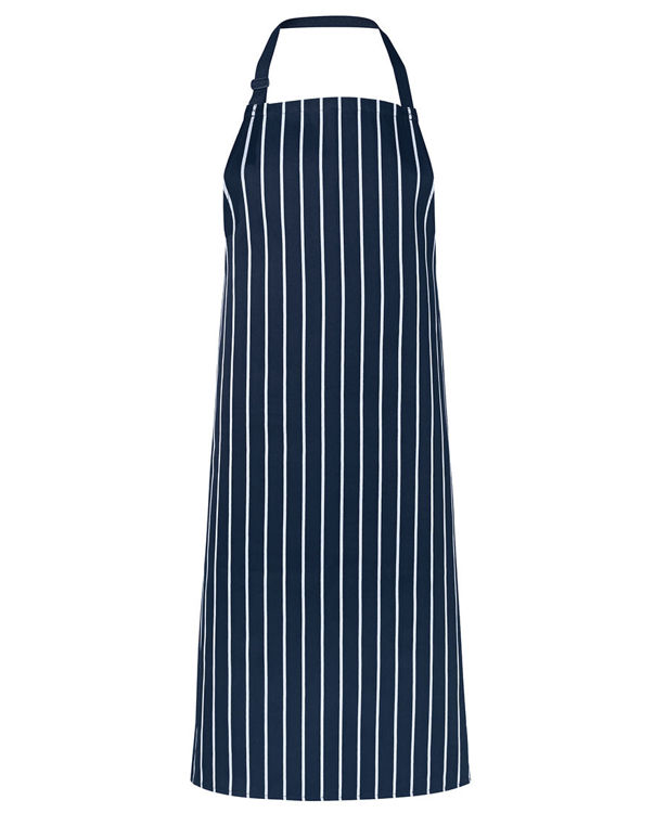 Picture of JB'S BIB STRIPED APRON WITHOUT POCKET