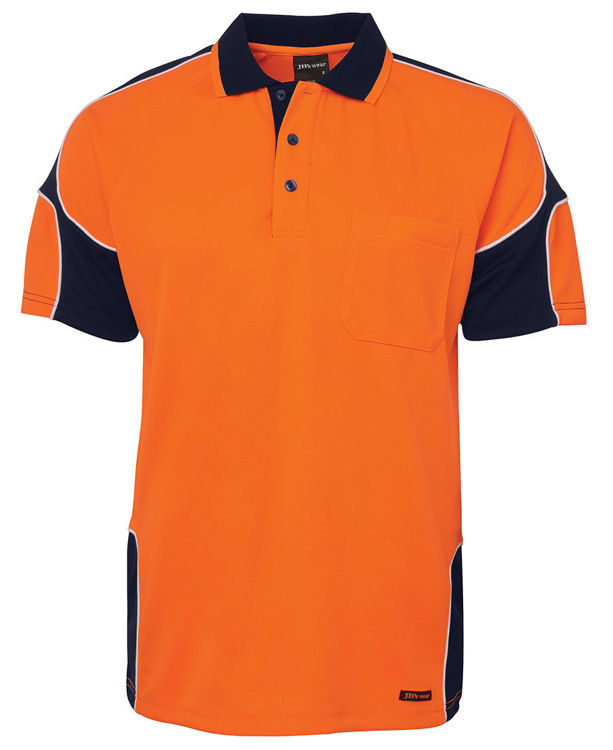 Picture of JB'S HI VIS S-S ARM PANEL POLO