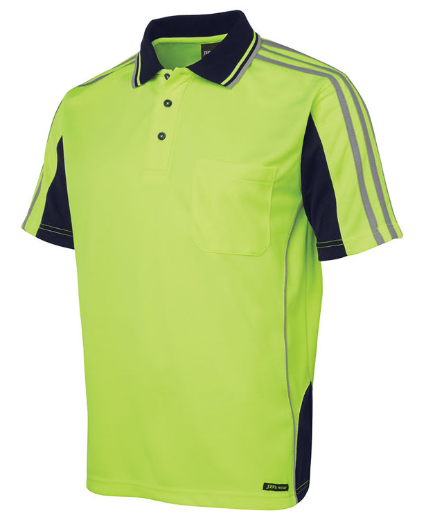 Picture of JB'S HI VIS S-S ARM TAPE POLO