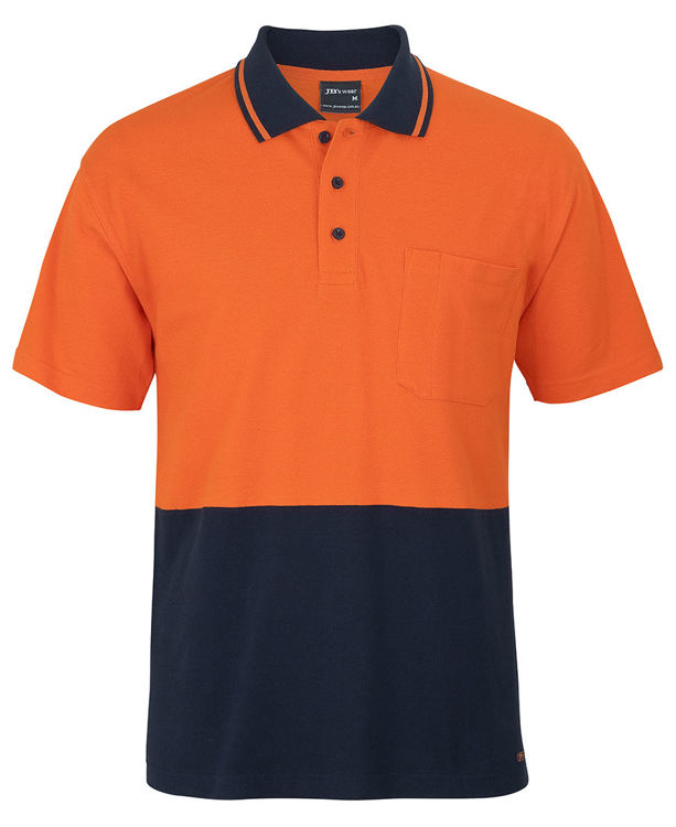 Picture of JB's HV S/S COTTON PIQUE TRAD POLO
