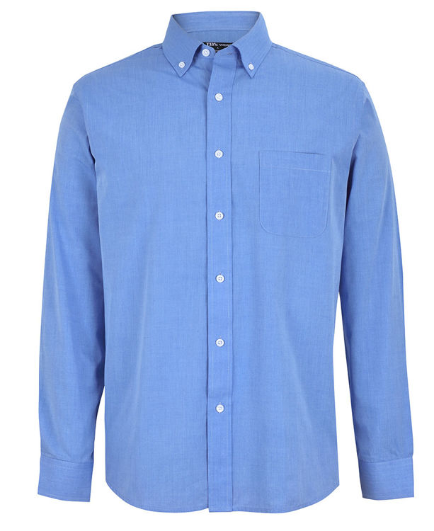 Picture of JB's L/S FINE CHAMBRAY SHIRT