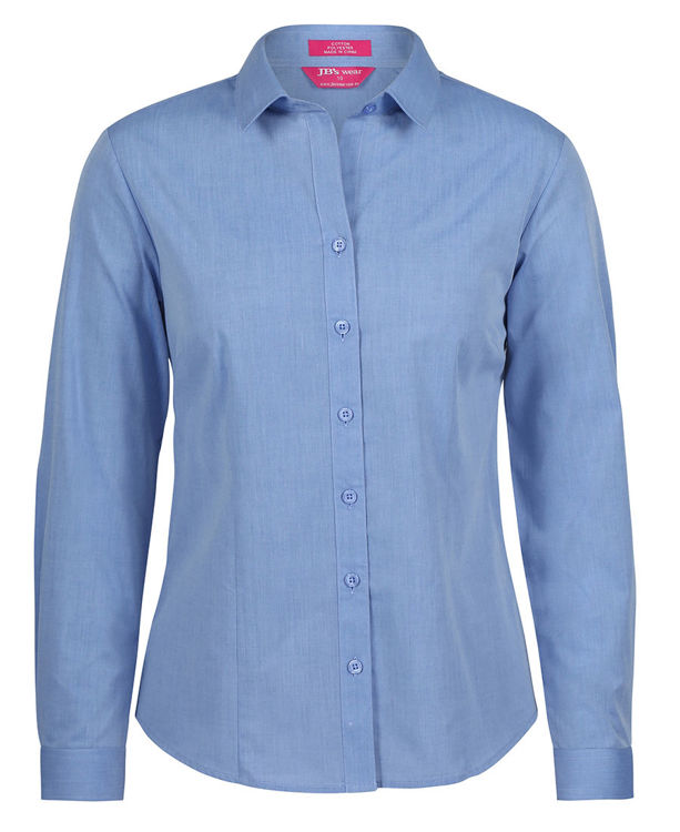 Picture of JB's LADIES CLASSIC L/S FINE CHAMBRAY