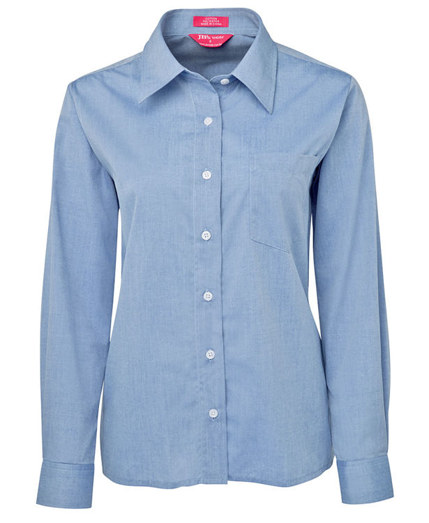 Picture of JB'S LADIES L-S FINE CHAMBRAY SHIRT