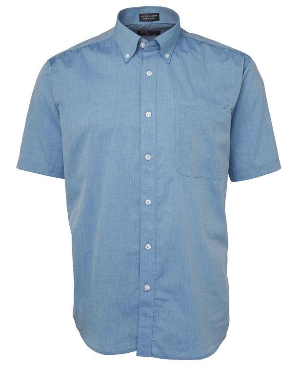 Picture of JB's S/S FINE CHAMBRAY SHIRT