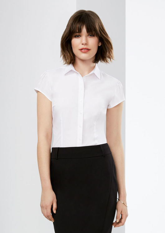 Picture of Ladies Euro Short Sleeve Shirt