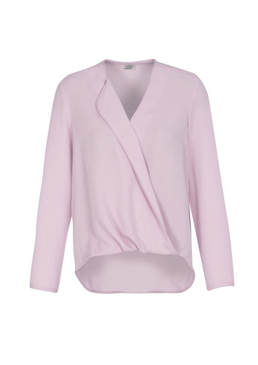 Picture of Lily Ladies Hi-Lo Blouse