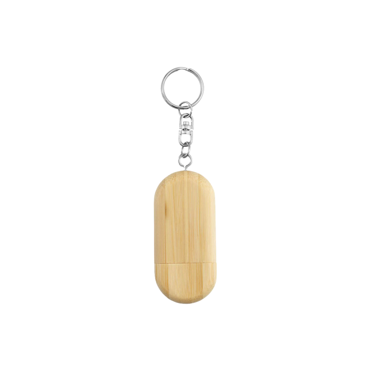 Picture of Oval Wooden USB Flash Drive